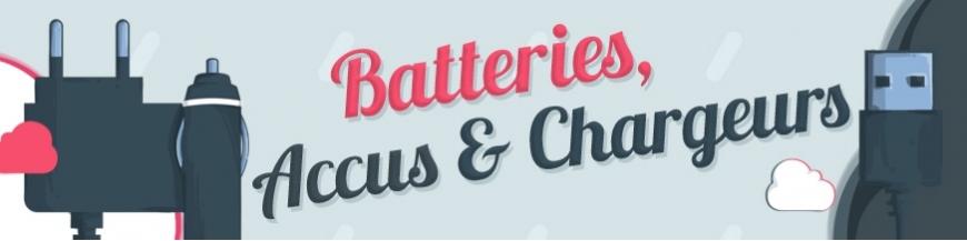 Batteries, Accus et Chargeurs
